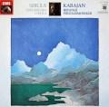 カラヤンのシベリウス/交響曲第4番&「タピオラ」 独EMI 2928 LP レコード