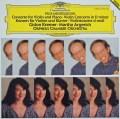 クレーメル&アルゲリッチのメンデルスゾーン/ヴァイオリンとピアノのための二重協奏曲ほか 独DGG 3035 LP レコード