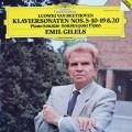 ギレリスのベートーヴェン/ピアノソナタ第5、10、19、20番 独DGG 3035 LP レコード