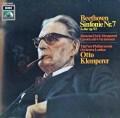 クレンペラーのベートーヴェン/交響曲第7番  独EMI 2905 LP レコード