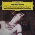 カバリエ&バーンスタインのR.シュトラウス/管弦楽伴奏による5つの歌曲 独DGG   2910 LP レコード