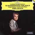 【ラストレコーディング】 ギレリスのベートーヴェン/ピアノソナタ第30&31番 独DGG 3035 LP レコード