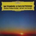 カラヤンのストラヴィンスキー/春の祭典 独DGG 3035 LP レコード