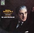 バルビローリのマーラー/交響曲第5番ほか 独EMI 2905 LP レコード