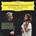 ムター&カラヤンのモーツァルト/ヴァイオリン協奏曲第3&5番 独DGG 3035 LP レコード