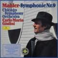 ジュリーニのマーラー/交響曲第9番 独DGG 3035 LP レコード