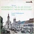 クリップスのモーツァルト/交響曲「ジュピター」&「ハフナー」 英Ace of Diamonds 3017 LP レコード