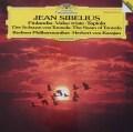 カラヤンのシベリウス/交響詩「フィンランディア」ほか 独DGG 2928 LP レコード