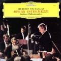 カラヤンの「オペラ間奏曲集」 独DGG 3017 LP レコード