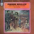 コンタルスキー兄弟のブーレーズ/2台のピアノのためのストリクチュール第1&2巻 伊CBS 2836 LP レコード