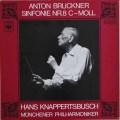 【ヨーロッパ最初期盤】 クナッパーツブッシュのブルックナー/交響曲第8番  独CBS 3035 LP レコード