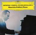 ポリーニのショパン/12の練習曲 独DGG 3017 LP レコード