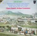 グリュミオー&ハスキルのモーツァルト/ヴァイオリン・ソナタ集 蘭PHILIPS 3035 LP レコード