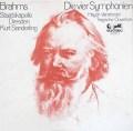 ザンデルリンクのブラームス/交響曲全集 独eurodisc 3017 LP レコード