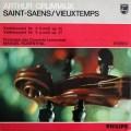 グリュミオー&ロザンタルのサン=サーンス/ヴァイオリン協奏曲第3番ほか 蘭PHILIPS 2914 LP レコード