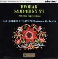 【オリジナル盤】 ジュリーニのドヴォルザーク/交響曲第8番(第4番) 英Columbia 3025 LP レコード