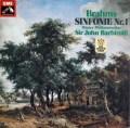 バルビローリのブラームス/交響曲第1番  独EMI  2914 LP レコード