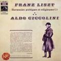 チッコリーニのリスト/詩的で宗教的な調べ(1) 仏EMI 3025 LP レコード