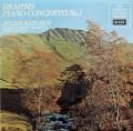 カッチェン&モントゥーのブラームス/ピアノ協奏曲第1番ほか 英DECCA   2922 LP レコード