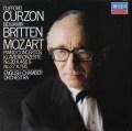 カーゾン&ブリテンのモーツァルト/ピアノ協奏曲第20&27番 蘭DECCA 3025 LP レコード