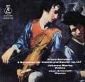 マルツィ&アントニエッティのシューベルト/ヴァイオリンとピアノのためのソナチネ第1〜3番 独Columbia 2906 LP レコード