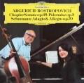 アルゲリッチ&ロストロポーヴィチのショパン/チェロソナタほか 独DGG 2922 LP レコード