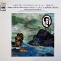 バーンスタインのマーラー/交響曲第3番 英CBS 2906 LP レコード