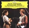 ダンチョフスカ&ツィンマーマンのフランク/ヴァイオリン・ソナタほか 独DGG 2922 LP レコード