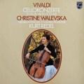 ワレフスカ&レーデルのヴィヴァルディ/チェロ協奏曲集  蘭PHILIPS 2922 LP レコード