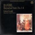 グールドのヘンデル/チェンバロ組曲第1-4番 蘭CBS 3025 LP レコード