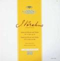 シュナイダーハン&ヴューラーのブラームス/ヴァイオリンソナタ第1&2番 独DGG 3010 LP レコード