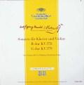 ゼーマン&シュナイダーハンのモーツァルト/ヴァイオリンソナタ第34&35番 独DGG 3010 LP レコード