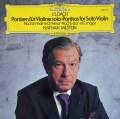 ミルシュタインのバッハ/無伴奏ヴァイオリンのためのパルティータ第2(シャコンヌ)&3番 独DGG 3010 LP レコード