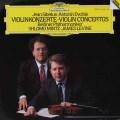 ミンツ&レヴァインのシベリウス&ドヴォルザーク/ヴァイオリン協奏曲 独DGG 3010 LP レコード