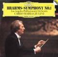 ジュリーニのブラームス/交響曲第1番 独DGG 2935 LP レコード