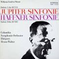 ワルターのモーツァルト/交響曲第41番「ジュピター」&第35番「ハフナー」 独ETERNA 3010 LP レコード