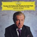 ミルシュタインのバッハ/無伴奏ヴァイオリンのためのパルティータ第2&3番 独DGG 2935 LP レコード