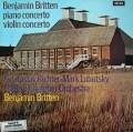 【オリジナル盤】 リヒテル、ルボツキー&ブリテンの協奏曲集 英DECCA 3010 LP レコード