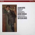 クレーメル&デイヴィスのベルク/ヴァイオリン協奏曲 蘭PHILIPS 2935 LP レコード