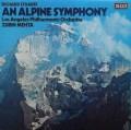 【オリジナル盤】 メータのR.シュトラウス/アルプス交響曲 英DECCA 3010 LP レコード