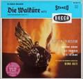 【独最初期盤】ショルティのワーグナー/「ワルキューレ」第3幕ほか 独DECCA 3010 LP レコード