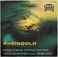 【独最初期盤】ショルティのワーグナー/「ラインの黄金」 独DECCA 3010 LP レコード