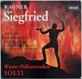 ショルティのワーグナー/「ジークフリート」 独DECCA 3010 LP レコード