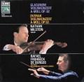 ミルシュタイン&ブルゴスのグラズノフ&ドヴォルザーク/ヴァイオリン協奏曲 独EMI 2935 LP レコード