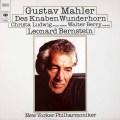 ルートヴィヒ、ベリー&バーンスタインのマーラー/「こどもの魔法の角笛」 独CBS 2935 LP レコード