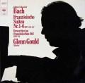 グールドのバッハ/フランス組曲ほか 独CBS 2935 LP レコード