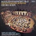 【オリジナル盤】 ショルティのマーラー/交響曲第8番「千人の交響曲」 英DECCA 3010 LP レコード