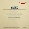 【赤ステレオ】 リヒターらのバッハ/管弦楽組曲第2&3番 独ARCHIV 2924 LP レコード