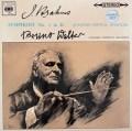 ワルターのブラームス/交響曲第2番ほか 英CBS 2924 LP レコード
