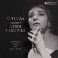 カラス、ヴェルディのヒロインたちを歌う 英Columbia 2924 LP レコード